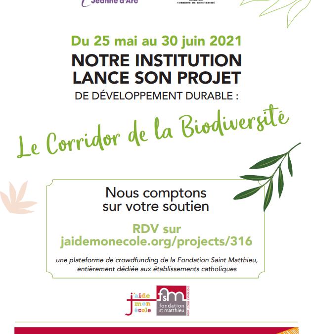 Le Corridor de la Biodiversité annoncé sur la radio RCF
