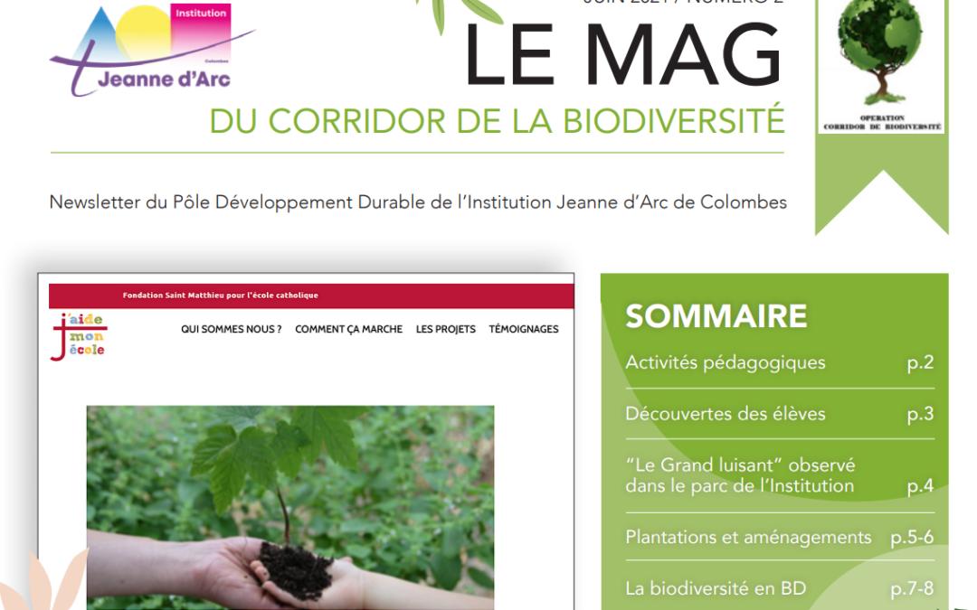 Le Mag 2 du Corridor de la Biodiversité